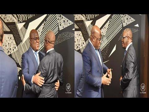 Président Félix TSHISEKEDI a reçu à NEW YORK, le Dr MUKWEGE, Prix Nobel. Bayambani na Esengo