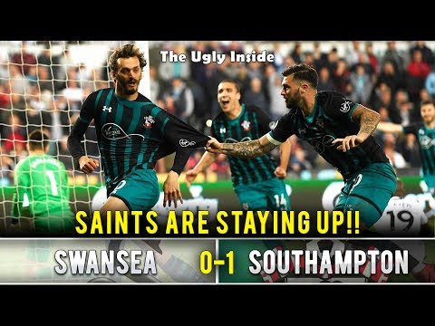 """""""Saints are staying up!"""" 