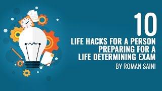 10 hacks to prepare for a life determining exam upsc ias ssc cgl ibps bank po cat preparation