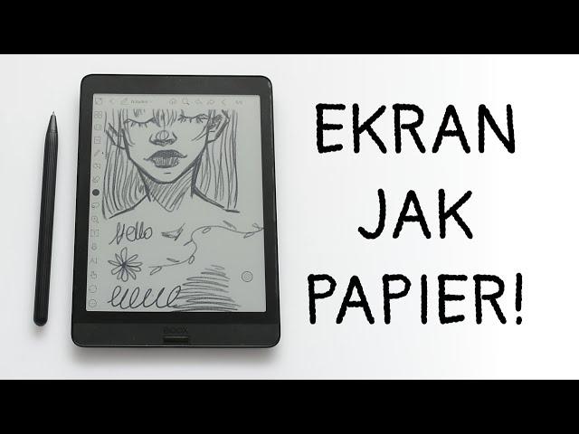 Nowa folia Doodroo na czytniki Onyxa, która imituje papier! 😮📃✏️Czy to działa?🤔