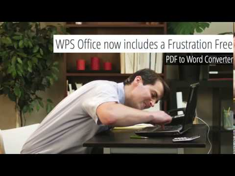 PDF To Word Conversion - WPS Office