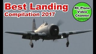 RC Plane Only Best Landings Compilation 2017 - RC Plane Video Channel