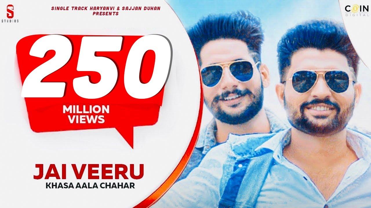 Download New Haryanvi Songs Haryanvi 2020   Khasa Aala Chahar   Jai Veeru   Single Track Haryanvi Latest