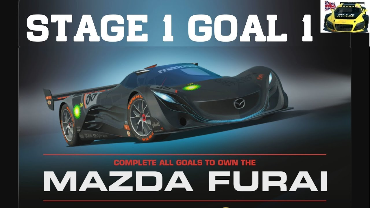 real racing 3 mazda furai rising stage 1 goal 1 rr3 youtube. Black Bedroom Furniture Sets. Home Design Ideas