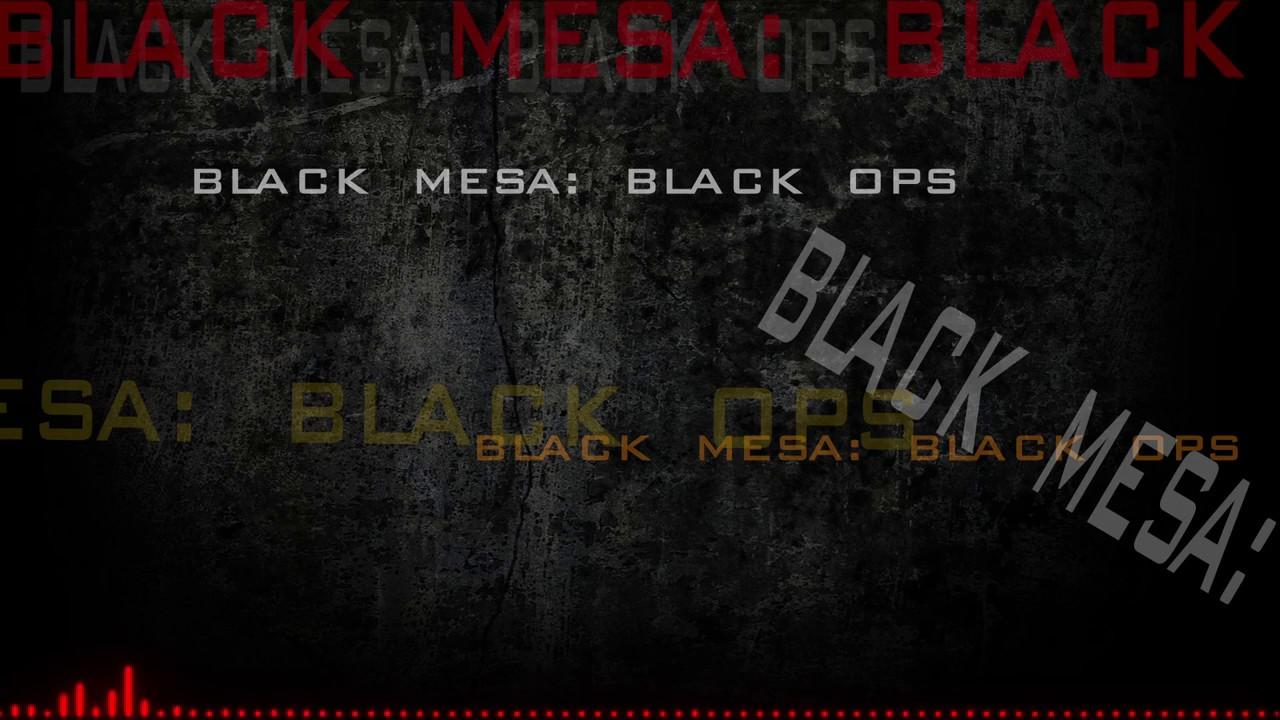 Black Mesa: Black Ops mod - Mod DB