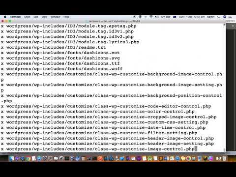 How to open or extract tar.gz files in mac terminal | compress and archive in tar.gz format