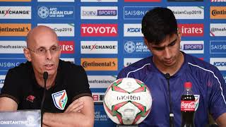 India's Stephen Constantine Matchday 1 pre-match press conference