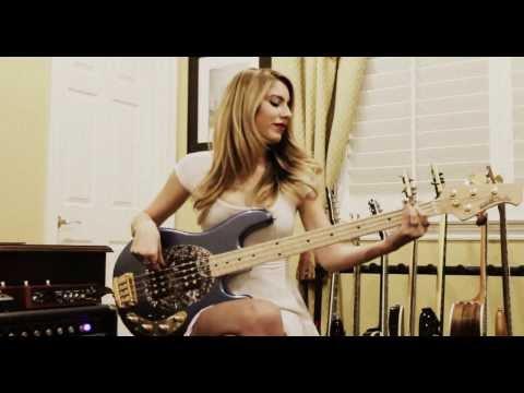 Anna Sentina - Bruno Mars - Treasure [Bass Cover]