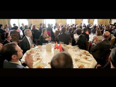 Le Prince Albert II de Monaco au Chinese Business Club