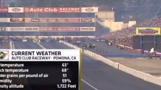 John Force Matt Hagan FC Final Winter Nationals 2014