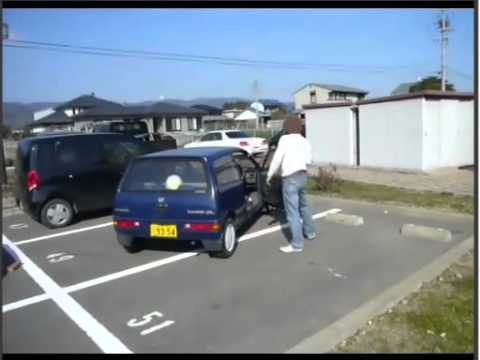 ドリフト駐車 drift parking