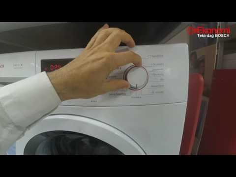 Bosch Çamaşır Makinesi Tanıtım Inceleme Review - Seri 4 WAK20211TR