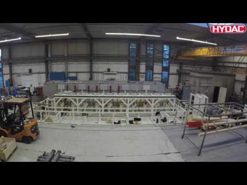 Hydac Construction Of A 4 0 MW HPU