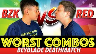 Beyblade Burst WORST COMBOS | Beyblades Tournament
