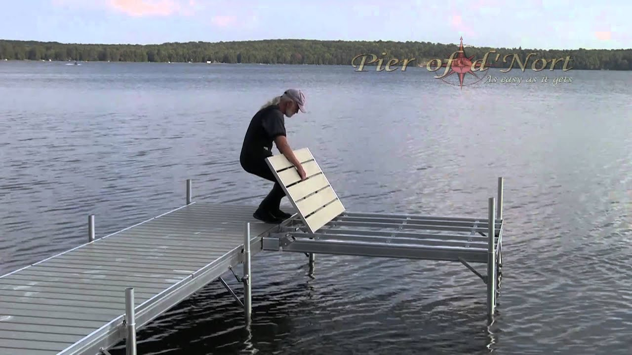 Dock Installation Mpg Youtube