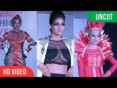 UNCUT - Redwingz Fashion Fervent 2017 | Hot Models Ramp Walk