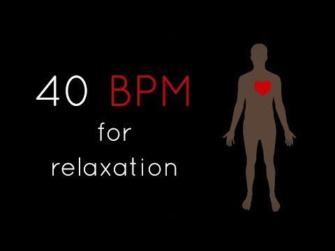 1h Heartbeat + Deep Bass (40 BPM) | Relaxing Meditation Music