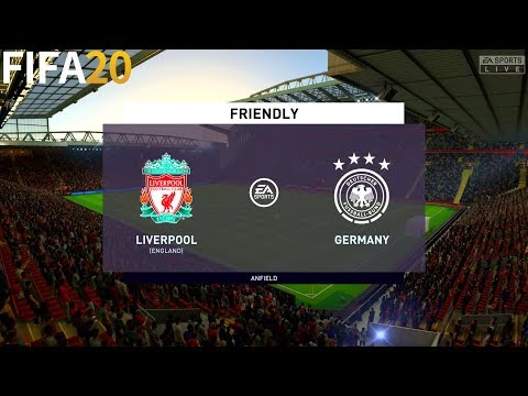 FIFA 19 | Liverpool vs Germany - Friendly - Full Match & Gameplay