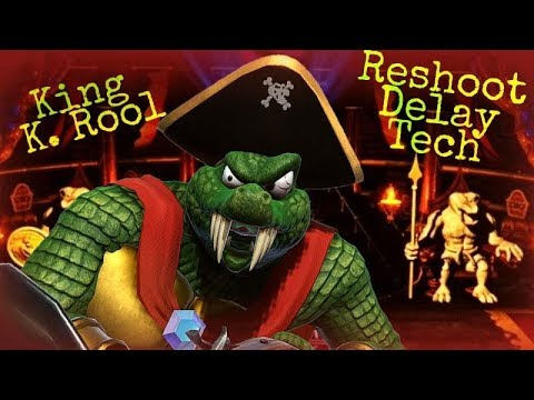 King K. Rool Reshoot Delay - Vacuum Tech Pt 2 [Smash Ultimate]