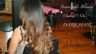 Beautifully blended Ombre on brown hair (Danixce Makeover) Thumbnail