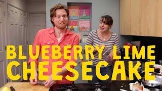 Raw Vegan Blueberry Lime CHEESECAKE - Ep. 18