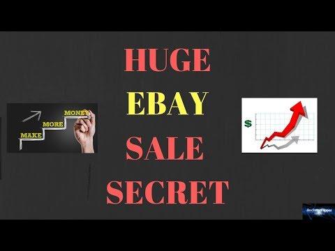 HUGE EBAY PROMOTION SALE SECRETS!!