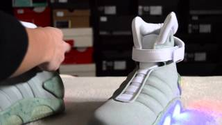 air mag back to the future shoe review reps