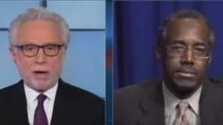 WOLF BLITZER fails to character assassinate BEN CARSON.