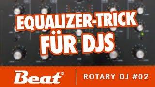 Tutorial: Omnitronic TRM 402 - Equalizer-Trick für DJs | Rotary DJ #02