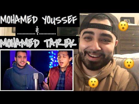 "Reaction to Mohamed Youssef and  Mohamed Tarek "" Beautiful Qasida Salawat Medley"