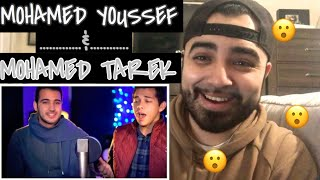 "Reaction to Mohamed Youssef and  Mohamed Tarek "" Beautiful Qasida Salawat Medley"""
