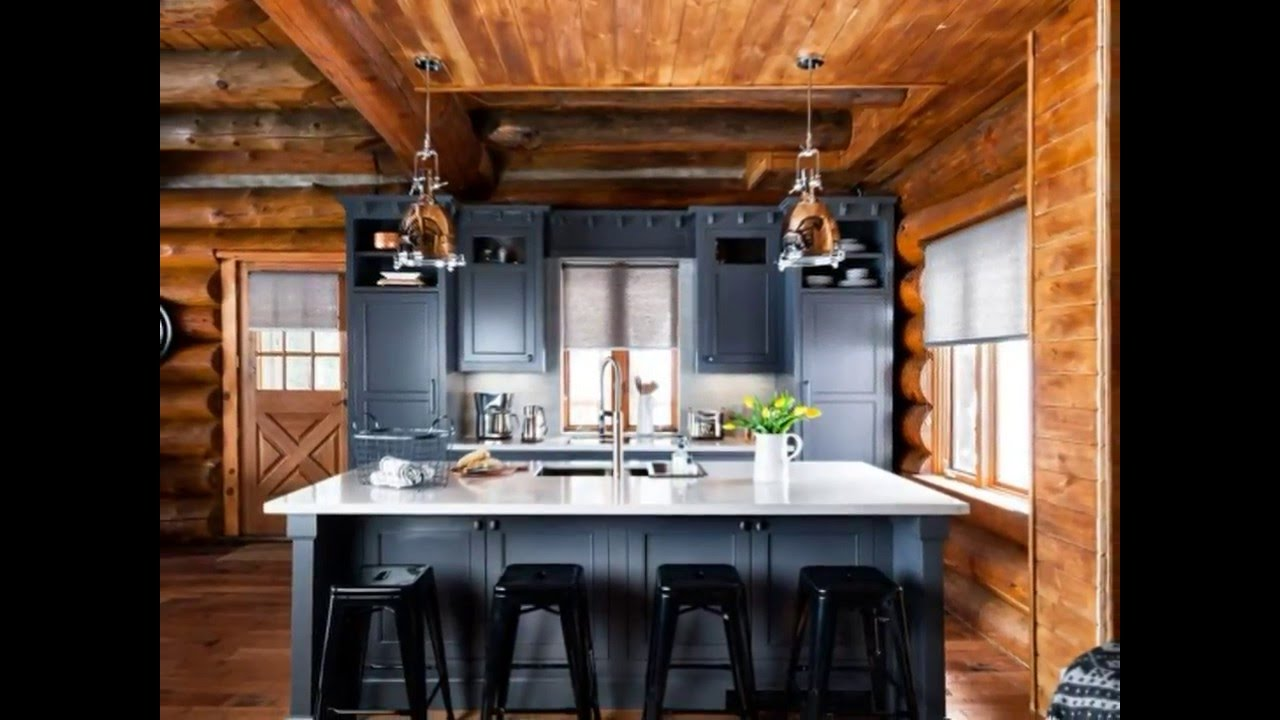 Awesome Log Cabin Interior Design U0026 Decoration Ideas!! Best Design!! You  Must See!!   YouTube