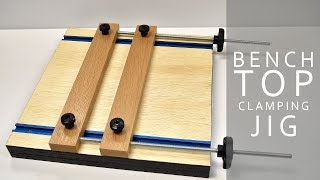 Making A Mini Benchtop Vise  | DIY CREATORS