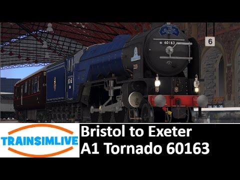Let's Play Train Simulator 2016 - Bristol Exeter, BR Blue Tornado 60163