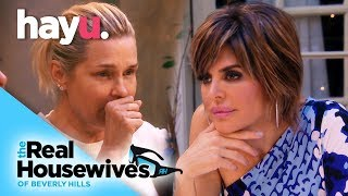 Yolanda Gets Sick at Rinna's Party | Real Housewives of Beverly Hills
