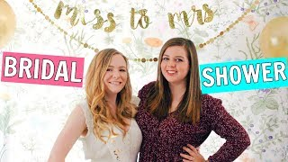 Throwing My BFF's Bridal Shower!