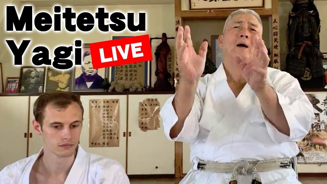 Live Streaming   Goju-ryu Meitetsu Yagi sensei   八木明哲先生 ライブ配信