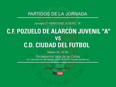JUVENIL A FEMENINO CF POZUELO  - CD CIUDAD DEL FUTBOL