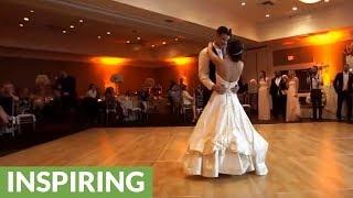 Newlyweds dazzle with surprise wedding dance