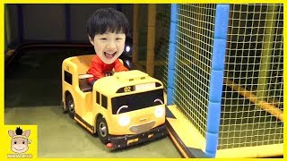 Tayo bus Indoor Playground Fun for Kids and Family Play Rainbow Colors|MariAndKids Toys