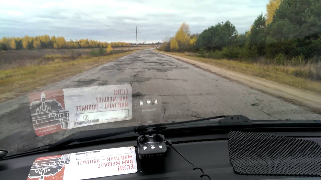 VIDEO: Rozdíl mezi Ruskem a Běloruskem zaznamenán řidičem za 50 vteřin