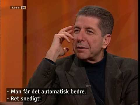 Leonard Cohen Interview + ''The Future'' (Danish Television, 1992)