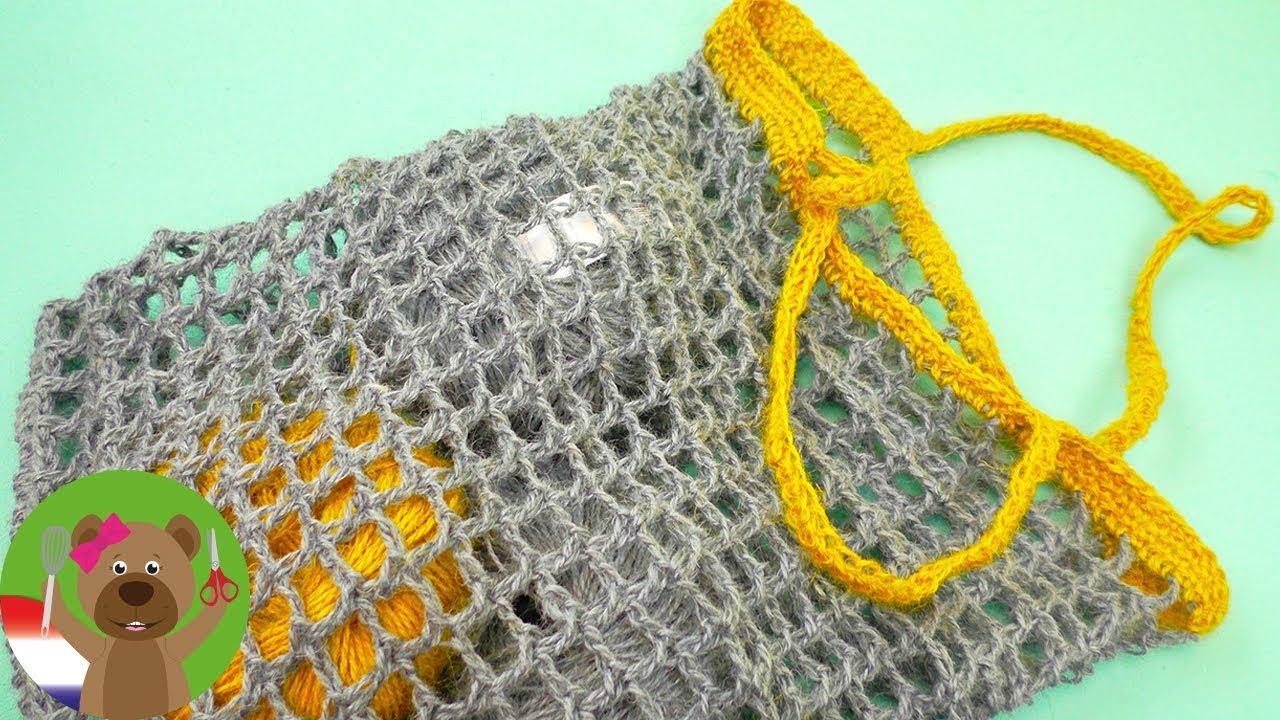 Favoriete Tas haken | Snelle zomerse tas met patroon zelf maken | Haken voor @GA18
