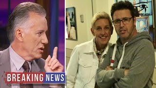 Ellen's Foul-Mouthed Producer Insults Trump, James Woods Humiliates Him... Bad