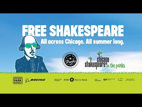 Chicago Shakespeare in the Parks Tour 2017