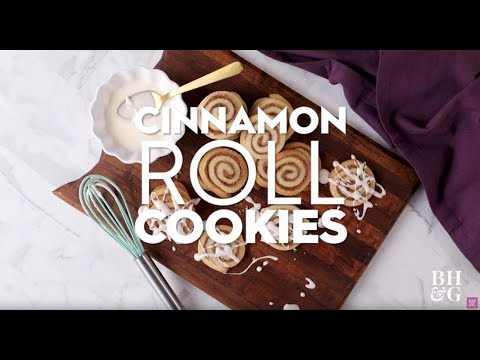 Cinnamon Roll Cookies | Eat This Now | Better Homes & Gardens