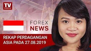 InstaForex tv news: 27.08.2019: JPY Kembali Menguat setelah Penurunan Tajam (USDX, JPY, AUD)