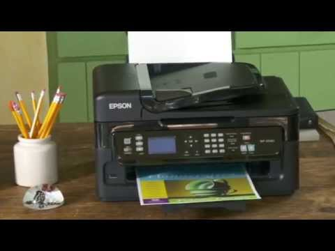 epson workforce pro wf 2540 wireless inkjet all in one printer youtube. Black Bedroom Furniture Sets. Home Design Ideas