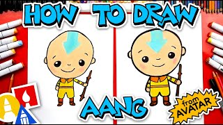 How To Draw Aang From Avatar: The Last Airbender