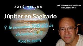 Júpiter en Sagitario del 9 de noviembre 2018 al 3 de diciembre 2019